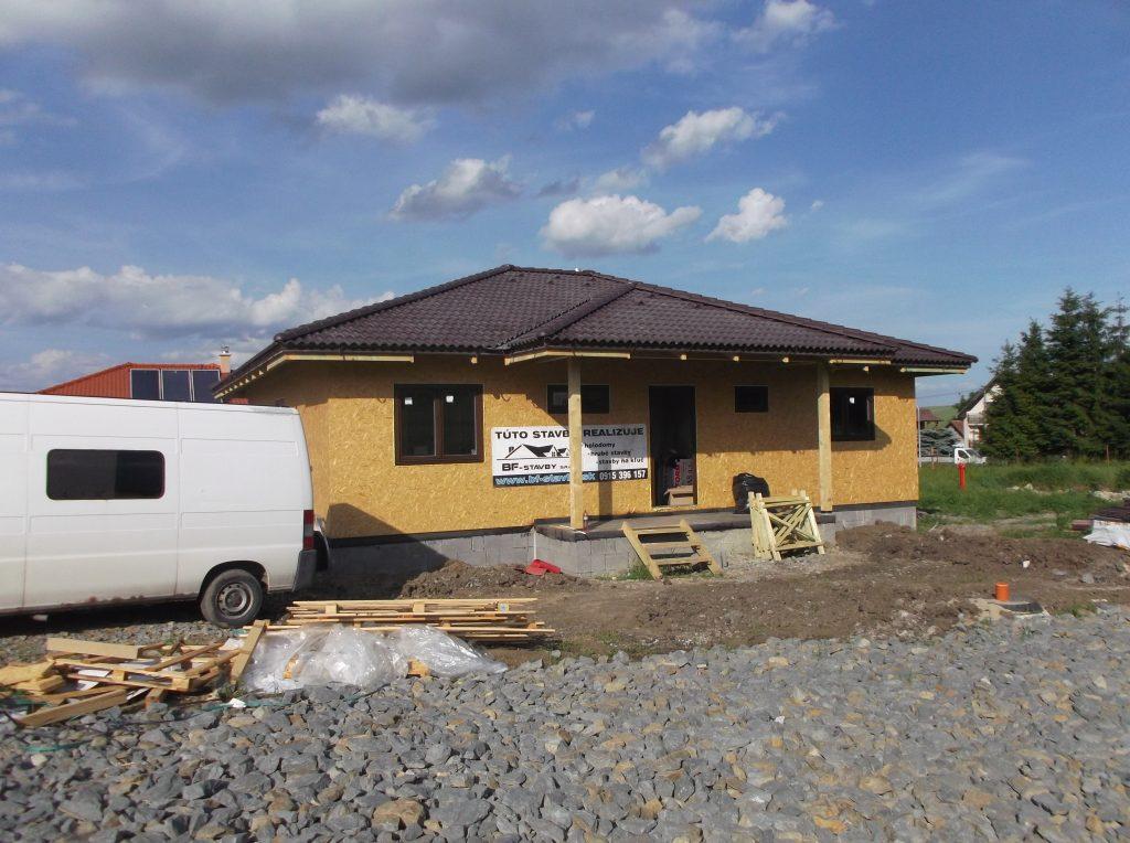 Montovaný bungalov Spišské Tomášovce