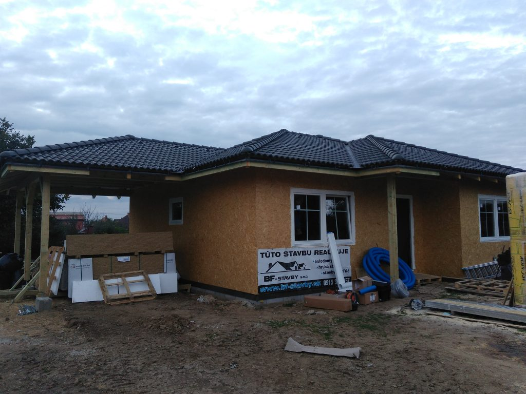 Montovaný bungalov Vráble