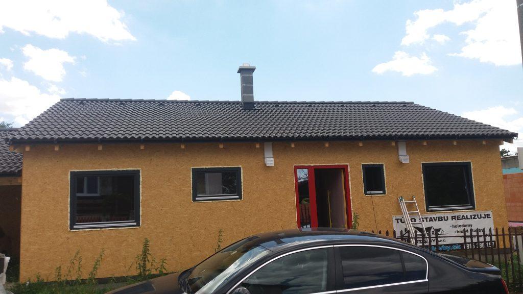 Montovaný bungalov Janíkovce