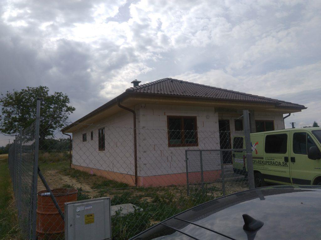 Rodinný dom Hrádok