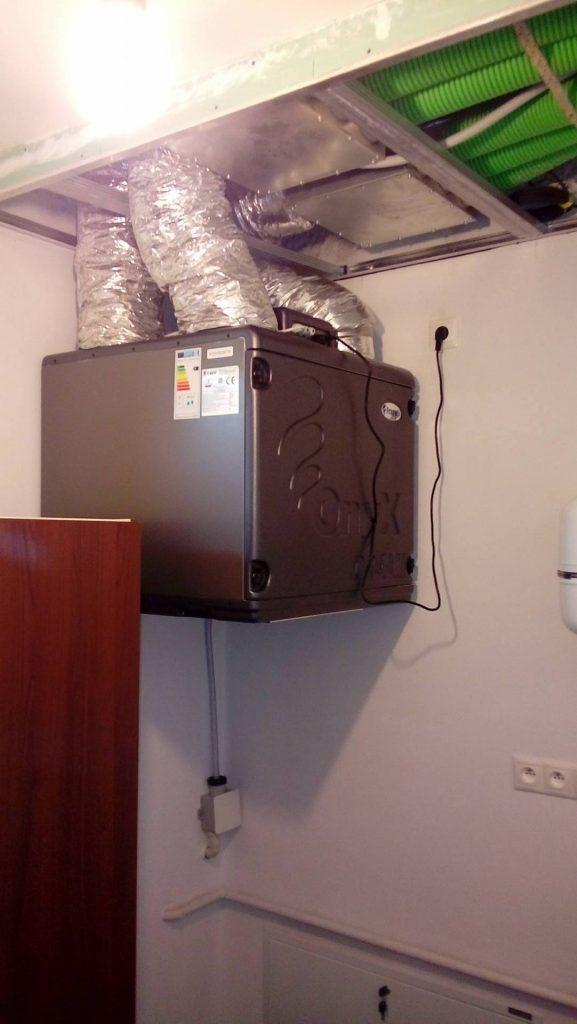 Rodinný dom Nitra – Montáž jednotky Dream 400