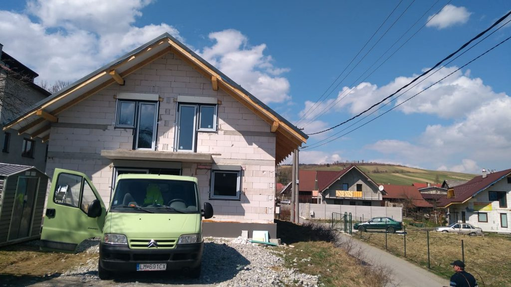 Rodinný dom Hruštín