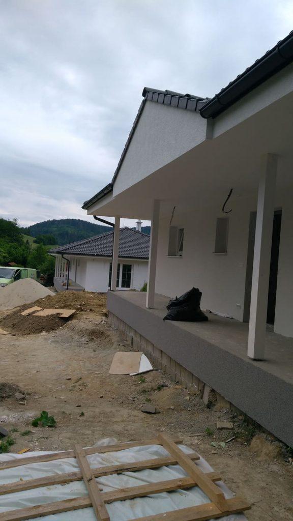 Dva rodinné domy Dolný Vadičov