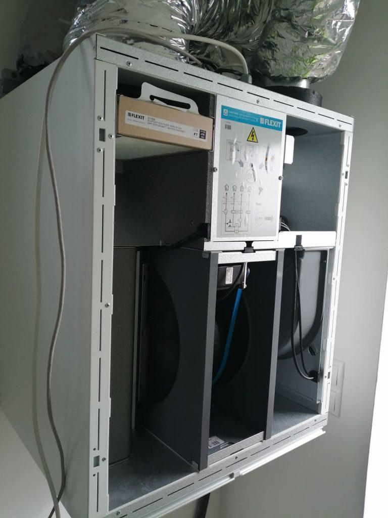 Rekuperačná jednotka Nordic Flexit S2 v Liptovskej Sielnici