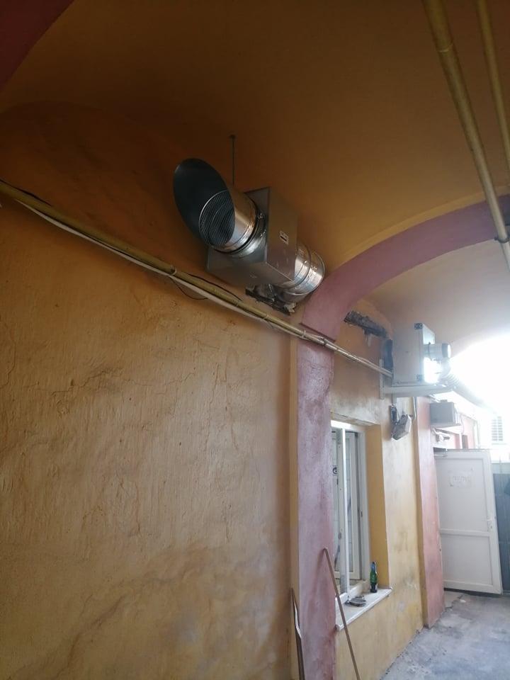 sanie vzduchu kuchyna