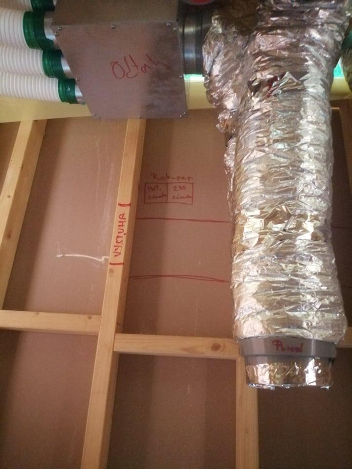 rekuperacia montovany dom