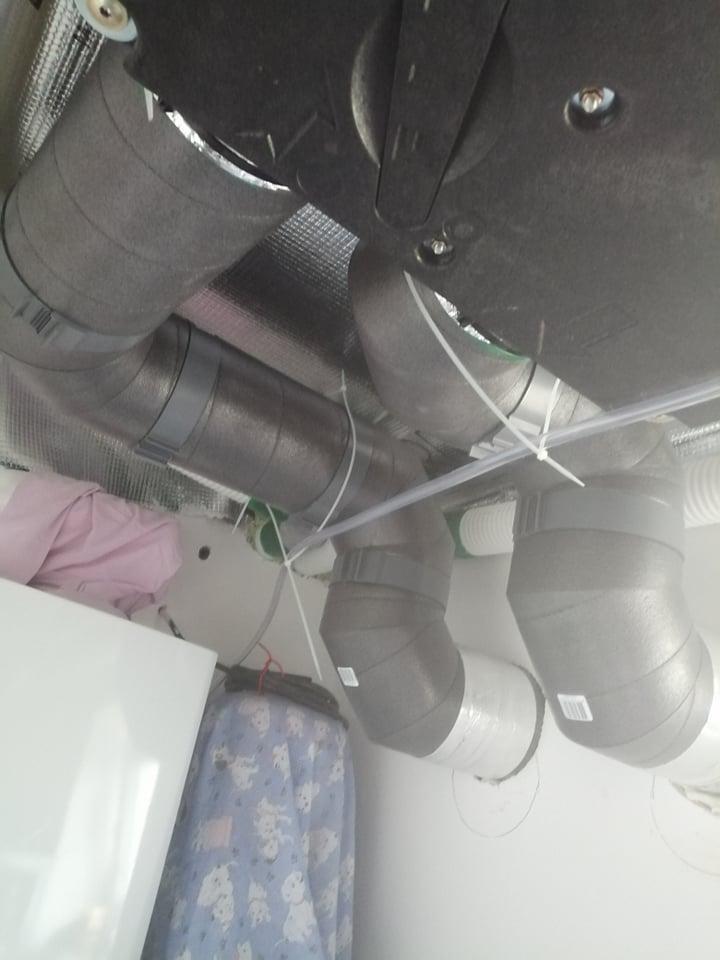 EPE potrubie pripojenie rekuperacia