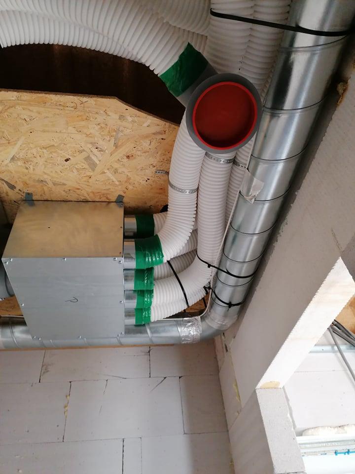riadene vetranie s rekuperaciou tepla LM