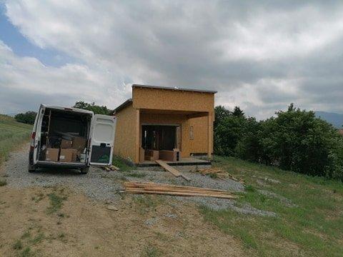 Horny Kalnik montovany dom rekuperacia
