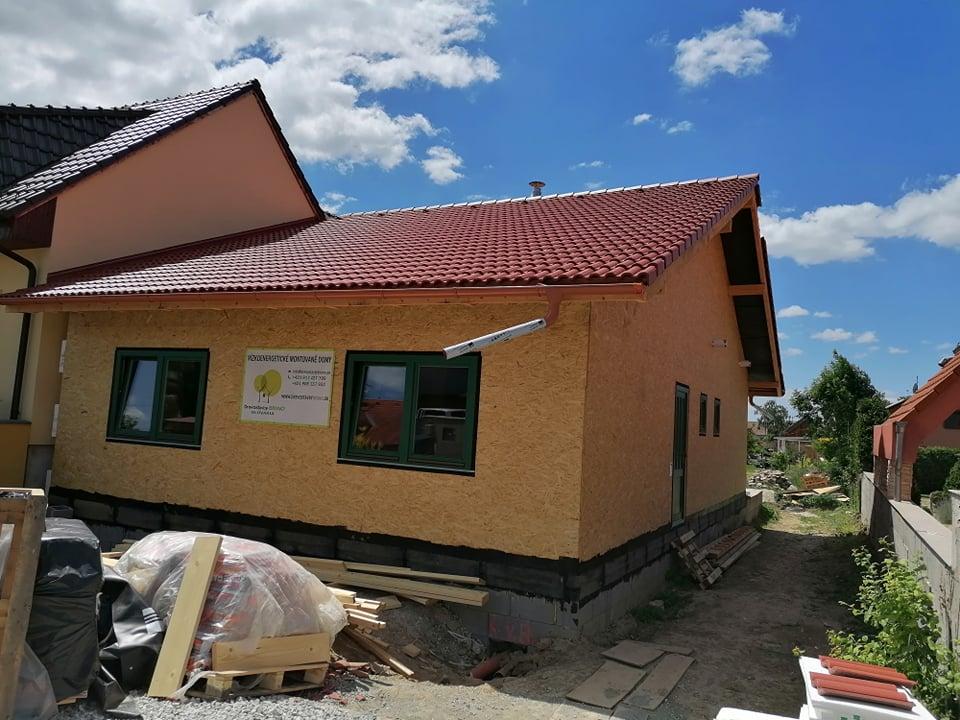 Viničné rekuperacia montovany dom