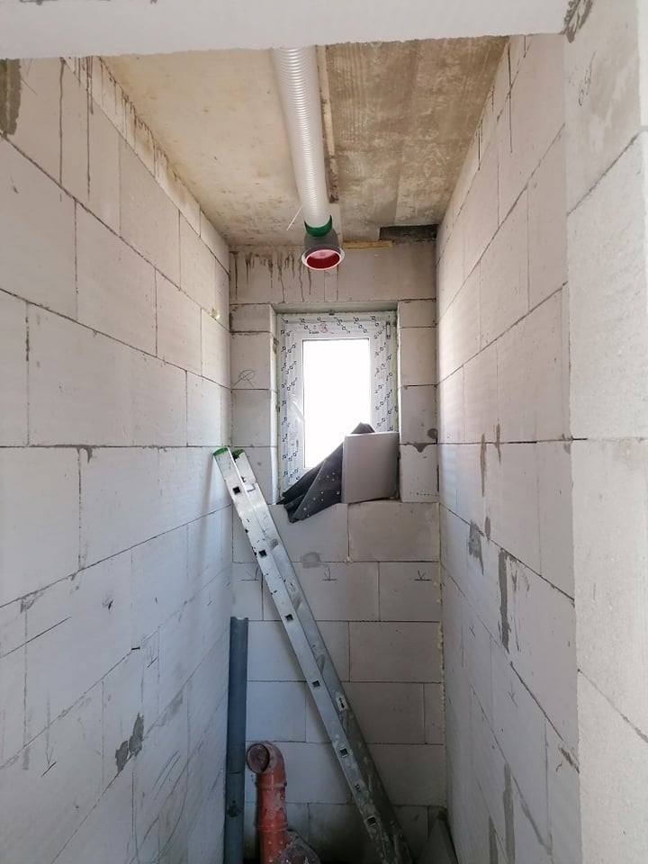 vetranie WC rekuperacia Orava Malatina